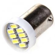 Светодиодная лампа, SKYWAY, S25 (P21/5W) 24V 8 диодов с цоколем 2 конт. КРАСНАЯ