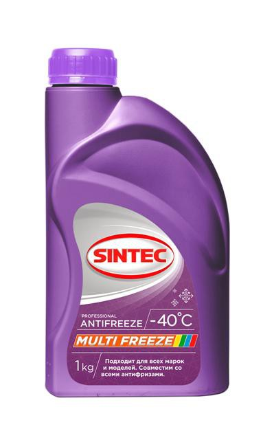 Sintec, Антифриз MULTI FREEZE, прозрачный, 1кг
