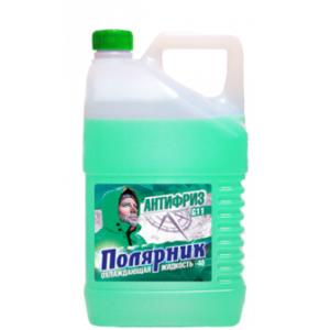 Антифриз , ПОЛЯРНИК, G-11 зелёный, 5л, г.Дзержинск
