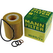 MANN, Фильтр масляный, HU815/2Х, Германия