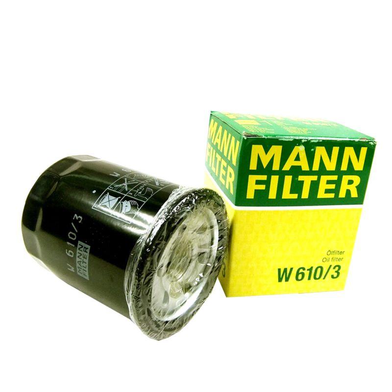 MANN, Фильтр масляный, W610/3/С-415/C-809, Германия