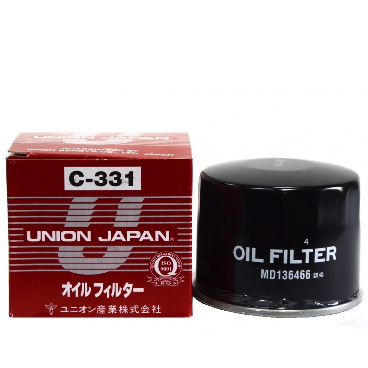 Union, Фильтр масляный, С-331/С-316/307, Япония