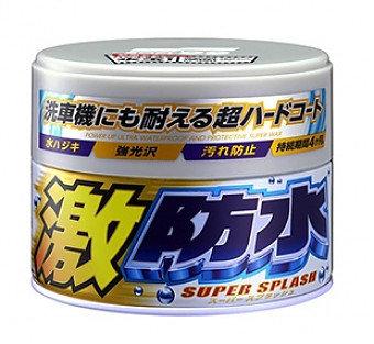 SOFT99, Water Block Wax,  Покрытие для кузова защитное для светлых авто, 300мл, 00341, Япония