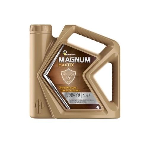 Роснефть Мagnum Ultratec, 10w40 SL/CF,  полусинтетика, 4л, Россия