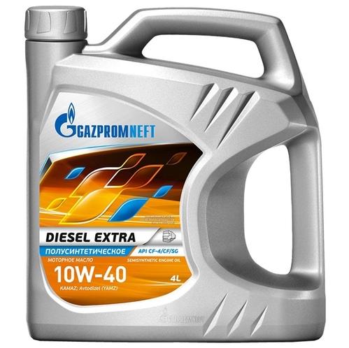 Gazpromneft Diesel Extra,10w-40, CF-4/CF/SG, полусинтетика, 4л, Россия