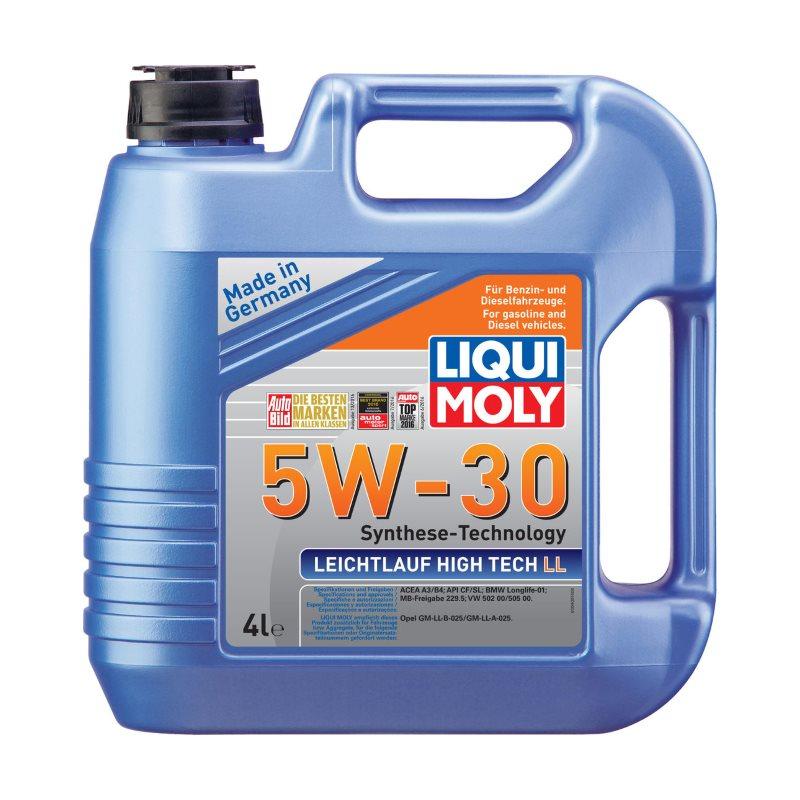 LIQUI MOLY Leichtlauf High Tech LL, 5W/30, синтетика, 4л, Германия