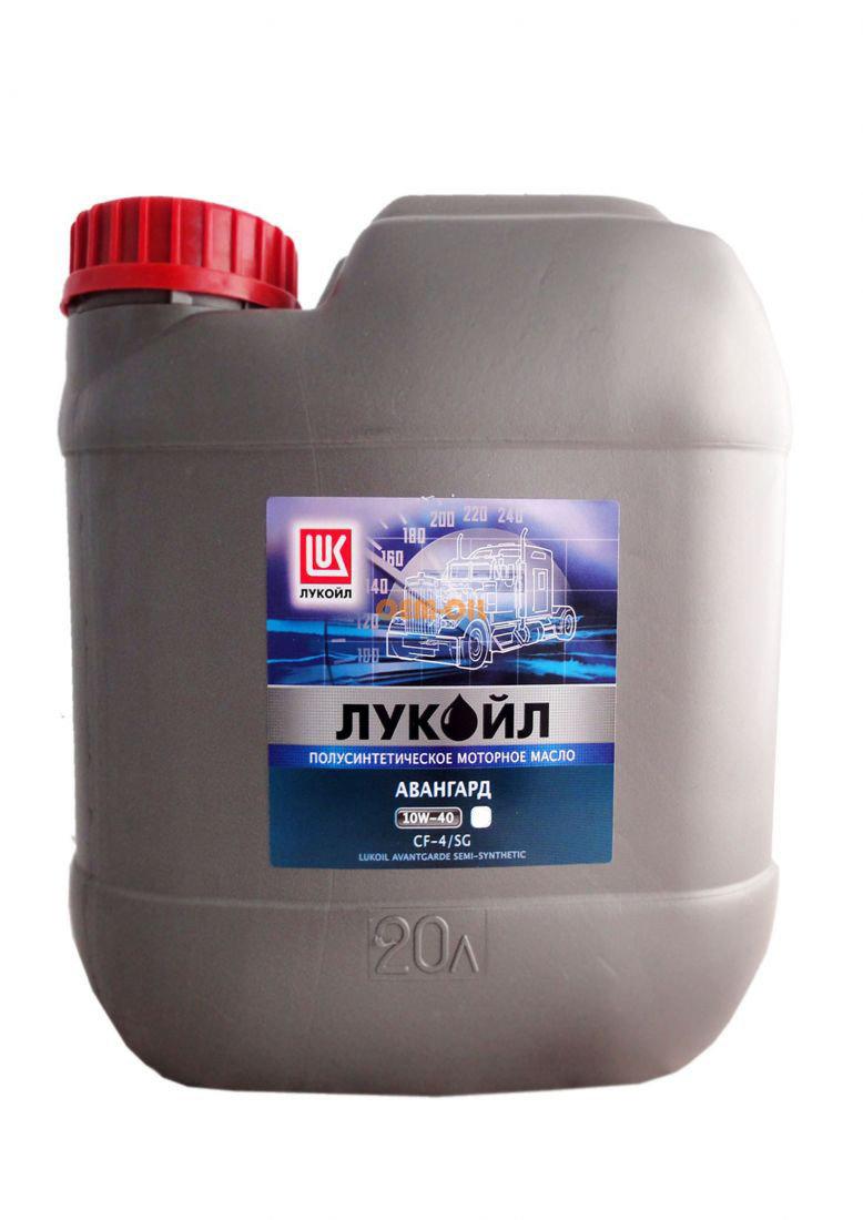 Лукойл Авангард, 10w/40, CF-4/SG ЕВРО-II-III, полусинтетика, 20л, Россия
