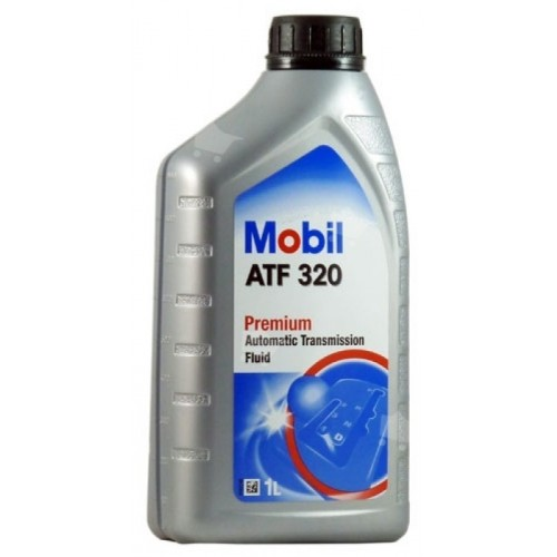 Mobil ATF 320, масло для АКПП, полусинтетика, 1л