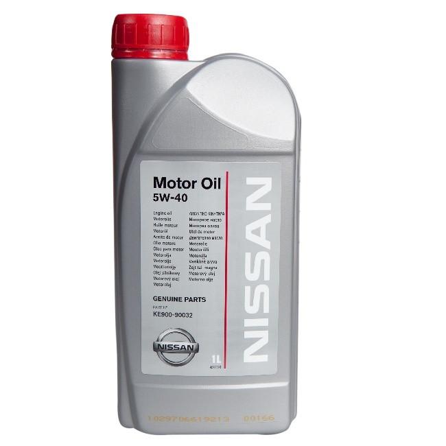 NISSAN MOTOR OIL 5W40 (A3/B4) VA. KE900-90032V, синтетика, 1л, EU