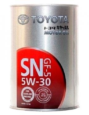 Toyota 5w-30, SN/CF GF-5, ,1л, Япония