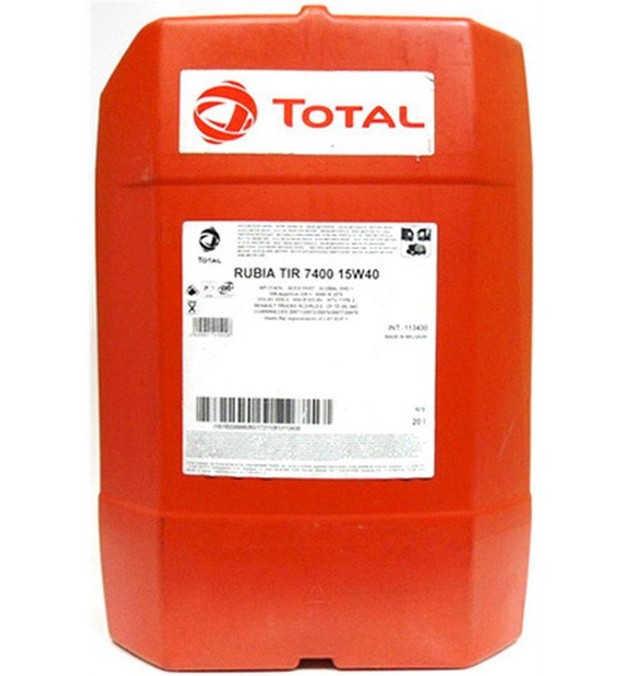 Total, Rubia Tir 8900, 10W40, для коммерческого транспорта, 20л