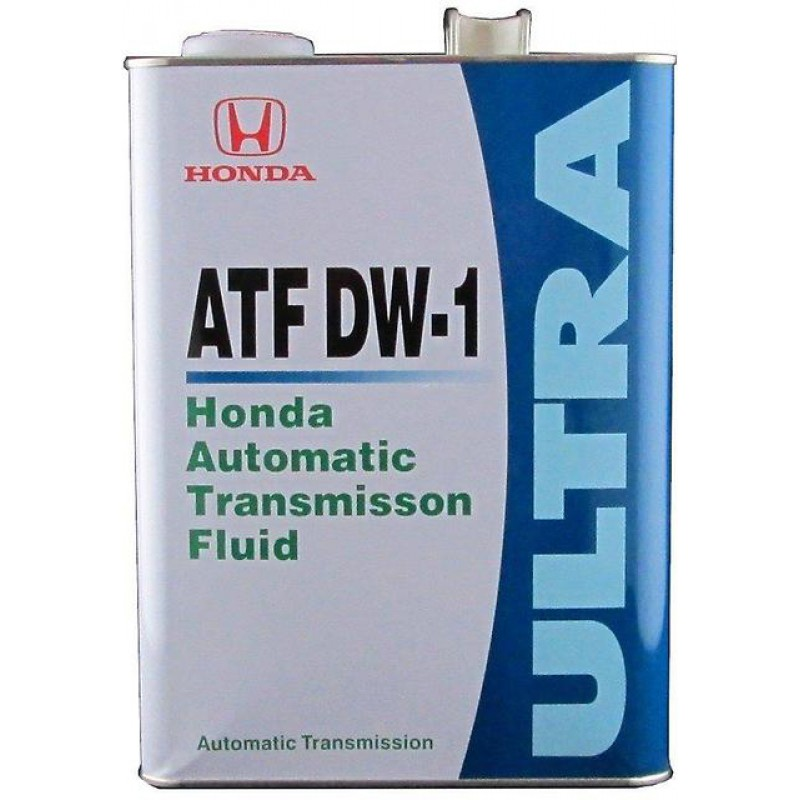 Honda ATF DW-1 (замена Z1), масло для АКПП, синтетика, 4л, Япония