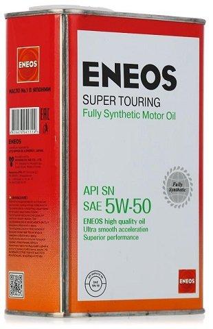 ЕNEOS Super Tourring, 5w-50, SN, синтетика, 1л, Япония