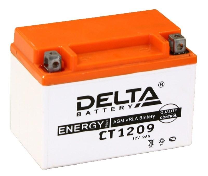 Аккумулятор Delta AGM 6MTC-9 (CT 1209). Китай