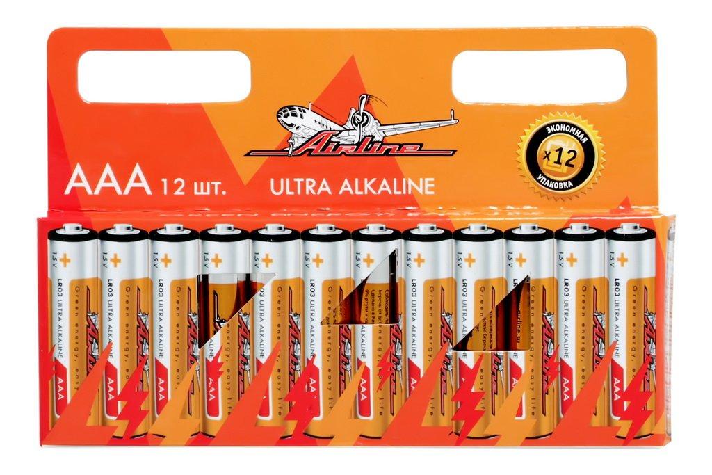 AIRLINE, Батарейка, AAA LR03 (мизинчиковые), (1шт.)