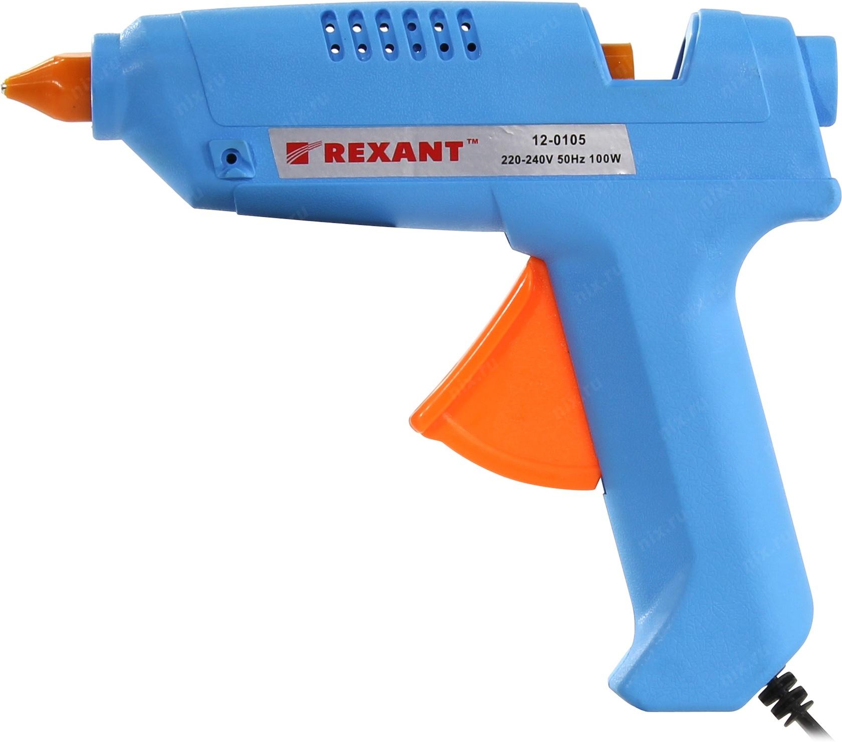 Пистолет клеевой 100W. REXANT.большой в блистере. Китай