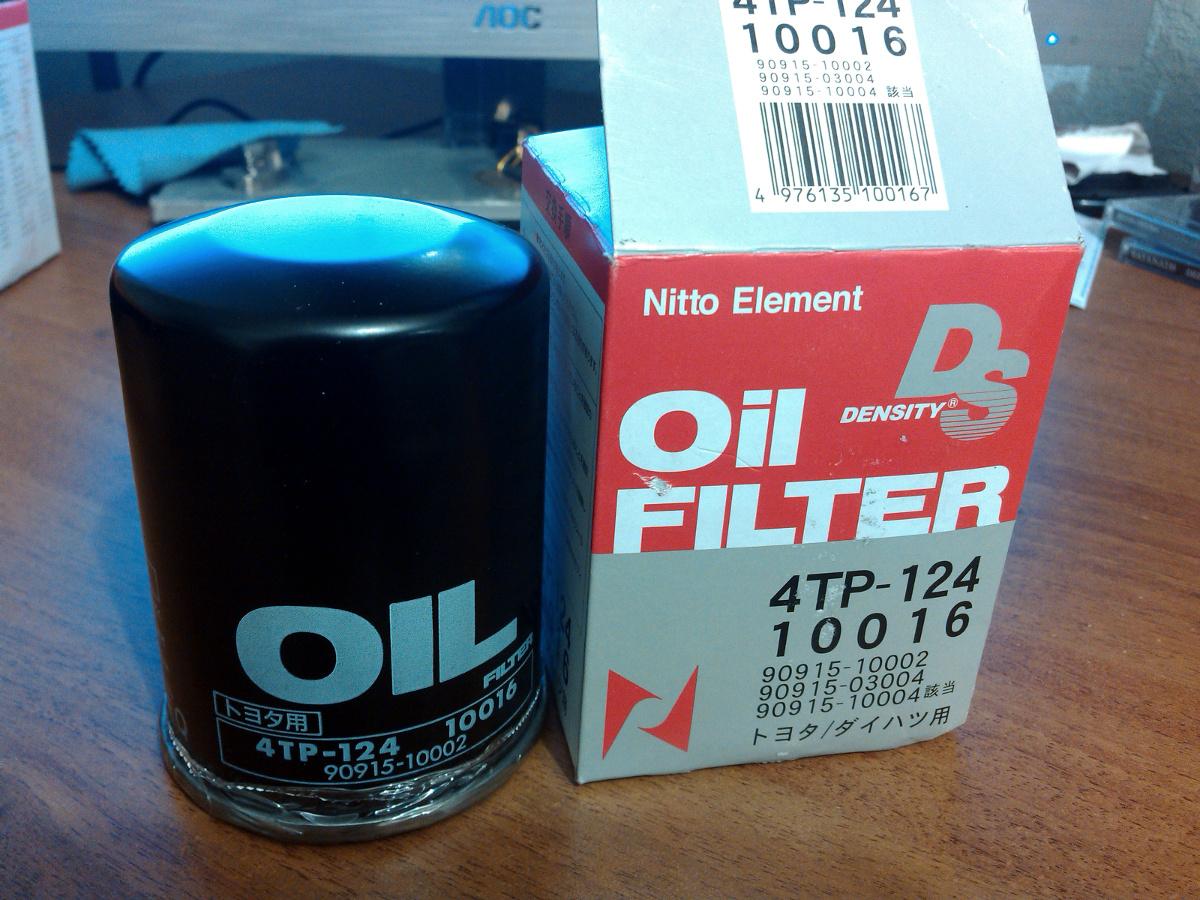 Nitto, Фильтр масляный, 124-4TP/C-113, Япония