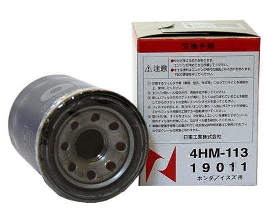 Nitto, Фильтр масляный, 113-4HM/C-809, Япония