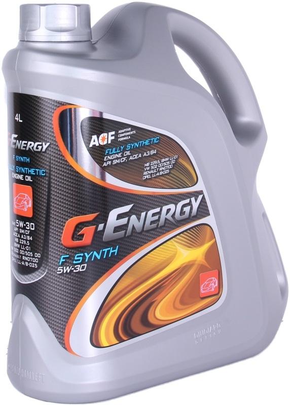 G-Energy F Synth С2/С3, 5w-30, синтетика, 4л, Италия