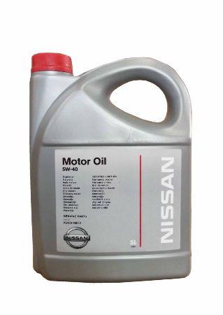 NISSAN MOTOR OIL SAE 5W40 API SN/CF (A3/B3) KE900-90042VA, синтетика, 5л, РОССИЯ