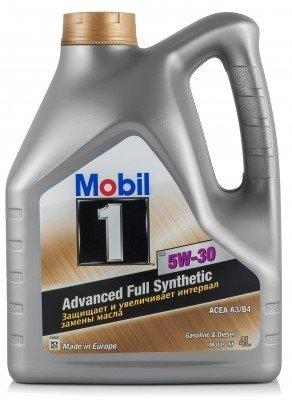 Mobil 1 FS, 5W30, синтетика, 4л, EU