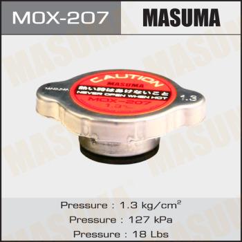 Крышка радиатора MASUMA, MОХ-207 1,3kg/cm2, 1шт, Япония
