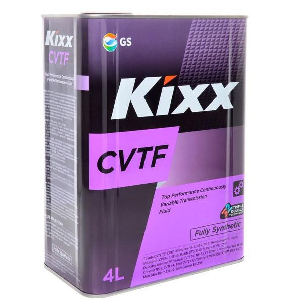 Kixx CVTF , трансмиссионное масло, для вариатора, синтетика, 4л, Корея