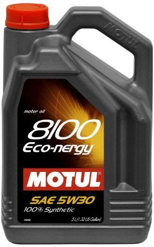 МOTUL 8100 Eco-Nergy, 5w-30,  синтетика, 5л, Франция