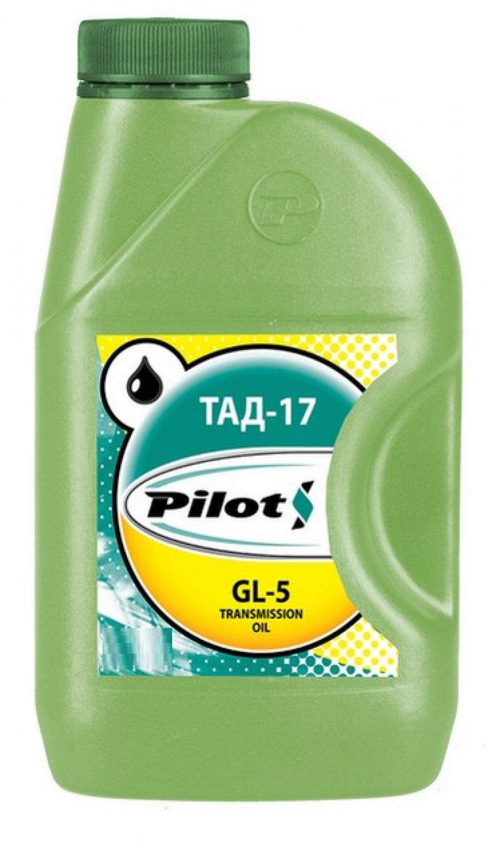 РILOT ТАД-17 (ТМ5-18), 80w90 GL-5 масло трансмиссионное, минеральное, 1л , г.Пермь