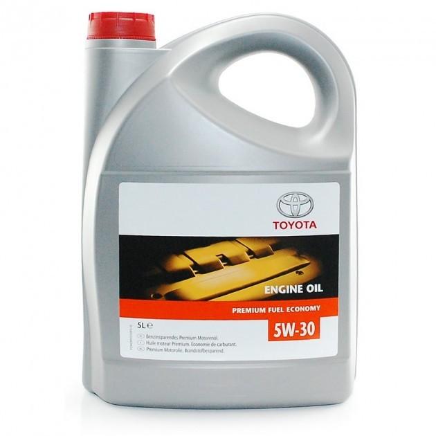 Toyota ENGINE OIL 5w-30 (08880-80845), SN, синтетика, 5л, США