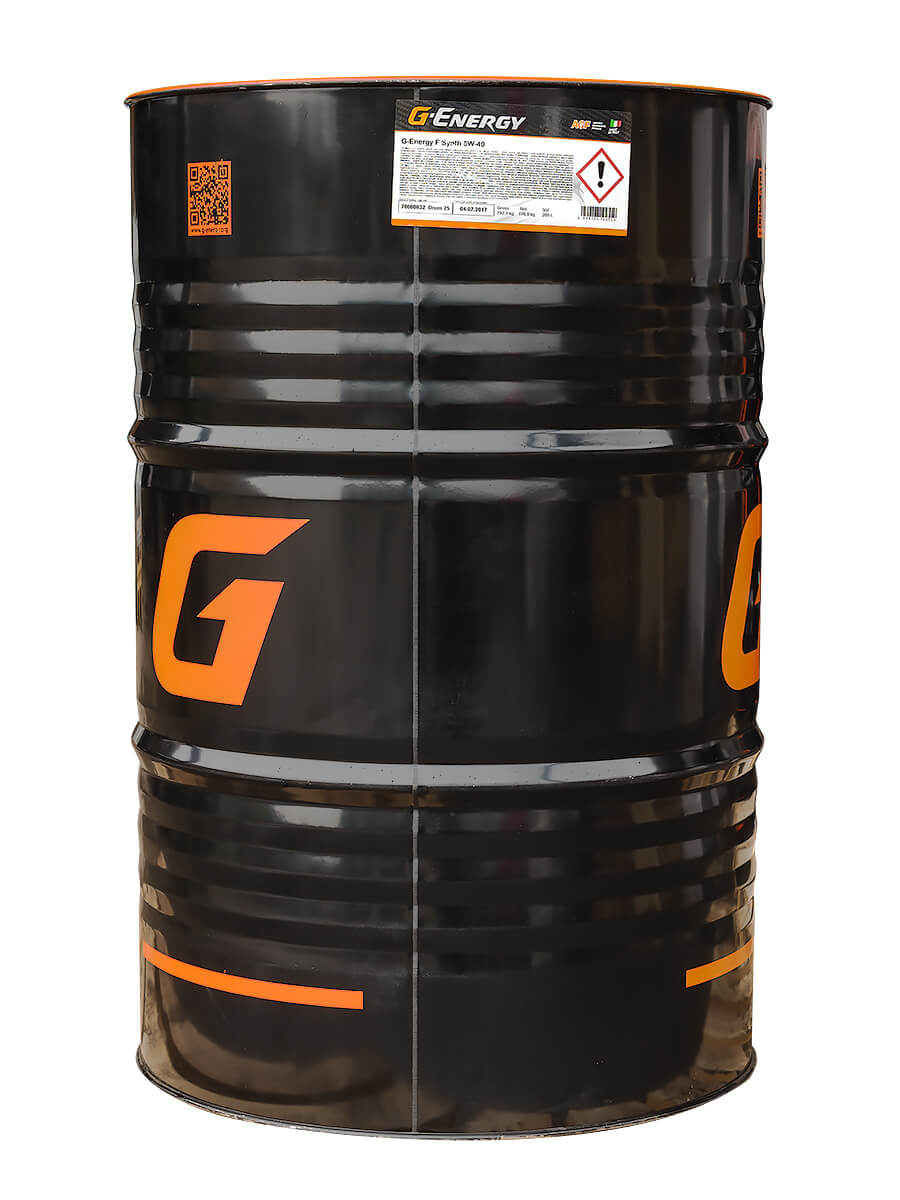 G-Energy Sinthetic Active 5w-40 SN/CF, синтетическое, (разливное), Россия