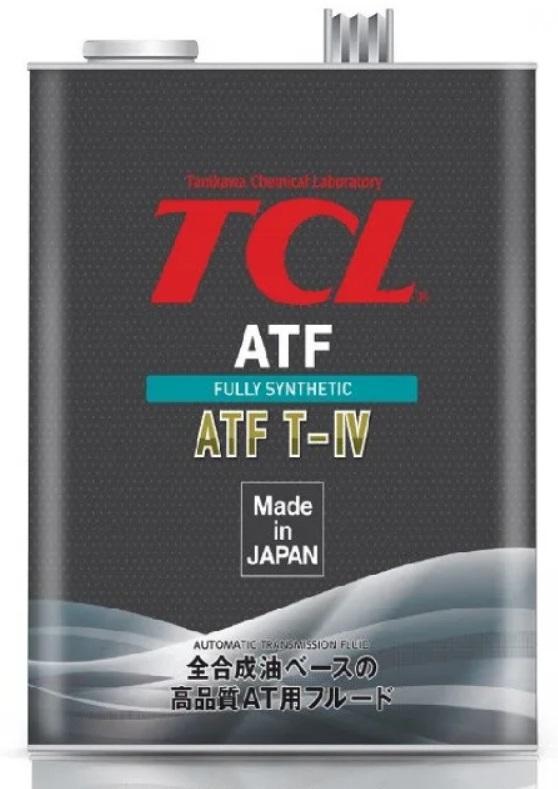 TCL ATF TYPE T-IV, для АКПП, синт, 4л, Япония