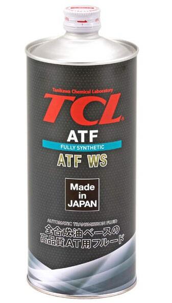 TCL ATF WS, для АКПП, синт, 1л, Япония
