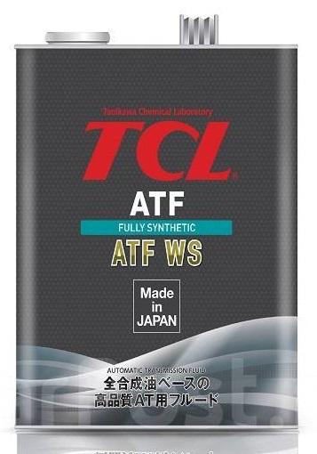 TCL ATF WS, для АКПП, синт, 4л, Япония