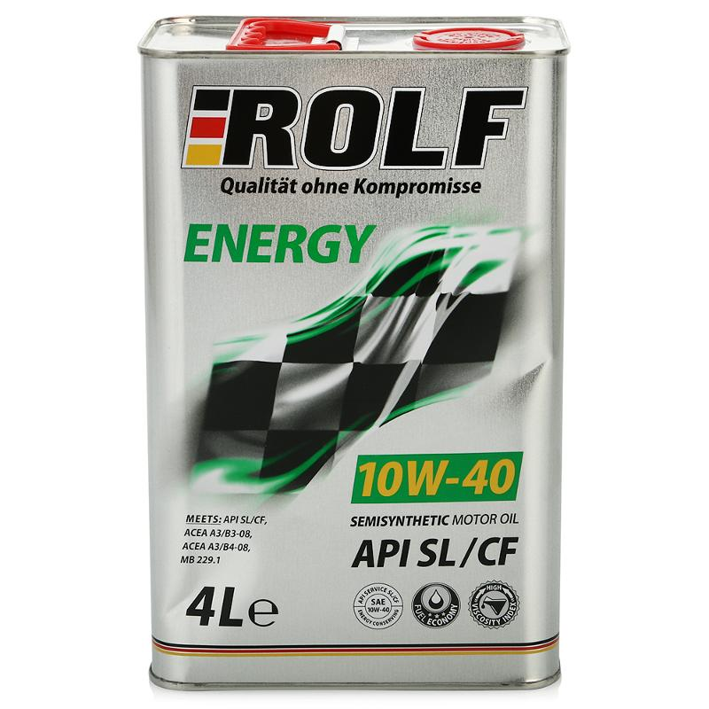 ROLF 10w40 Energy SL/CF 4 л.