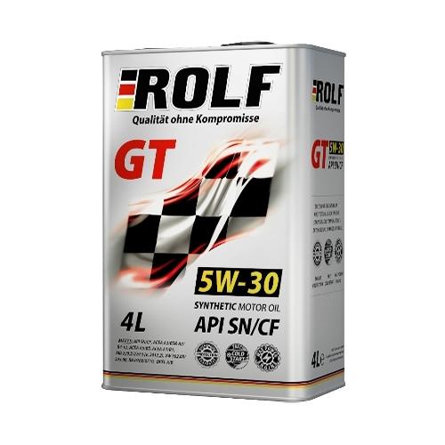 ROLF 5w30 GT SN/CF синтетика. 4 л.