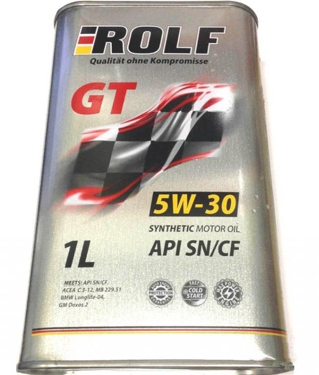 ROLF 5w40 GT SN/CF синтетика. 1 л.