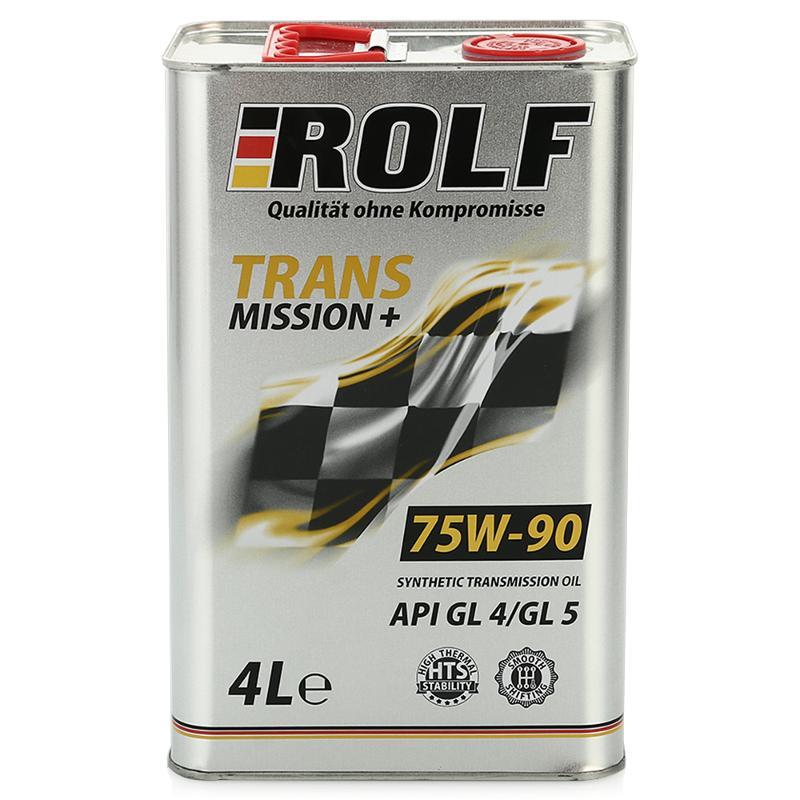 ROLF 75w90 GL-4 полусинтетика. 4 л
