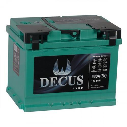 Аккумулятор DECUS 60 а/ч L (левый)