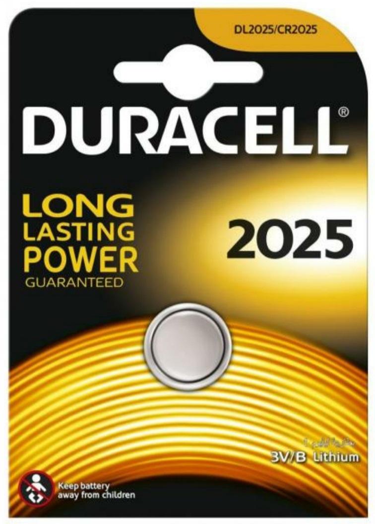 Duracell, СR2025, 1шт