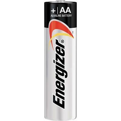 Energize Power, AA батарейка (пальчиковая), отрывной набор, 1шт, Сингапур