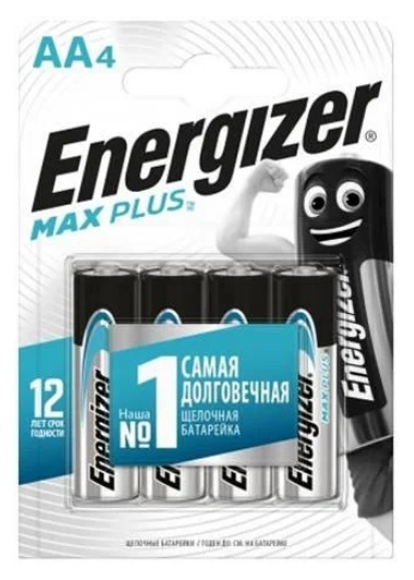 Energizer Maximum Plus AA (пальчиковая), блистер 4шт, Сингапур