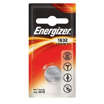 Energizer Lithium , CR1632 батарейка, 1шт, Китай