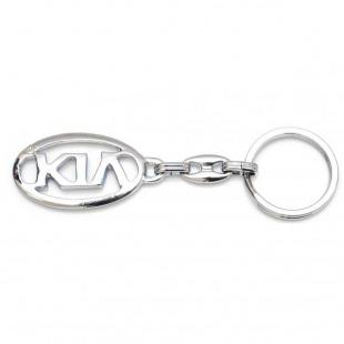 Брелок хром модель авто «Kia»