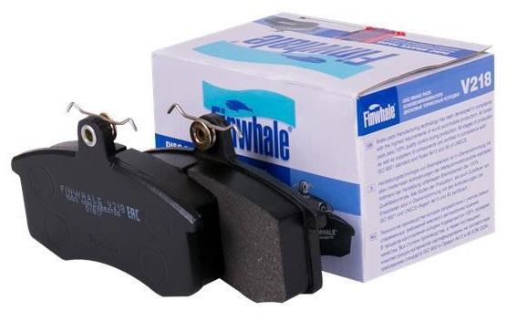 Тормозные колодки ,FINWHALE, дисковые V218 ВАЗ 2108, комплект