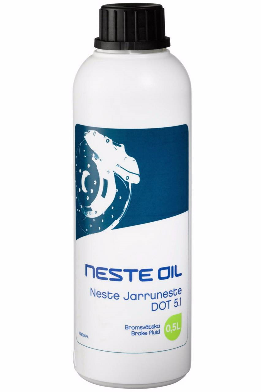 Neste, тормозная жидкость, ДОТ-5.1, 0,5л