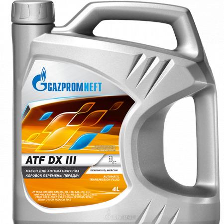 Gazpromneft ATF DX-III (масло для АКПП) 4л. Россия