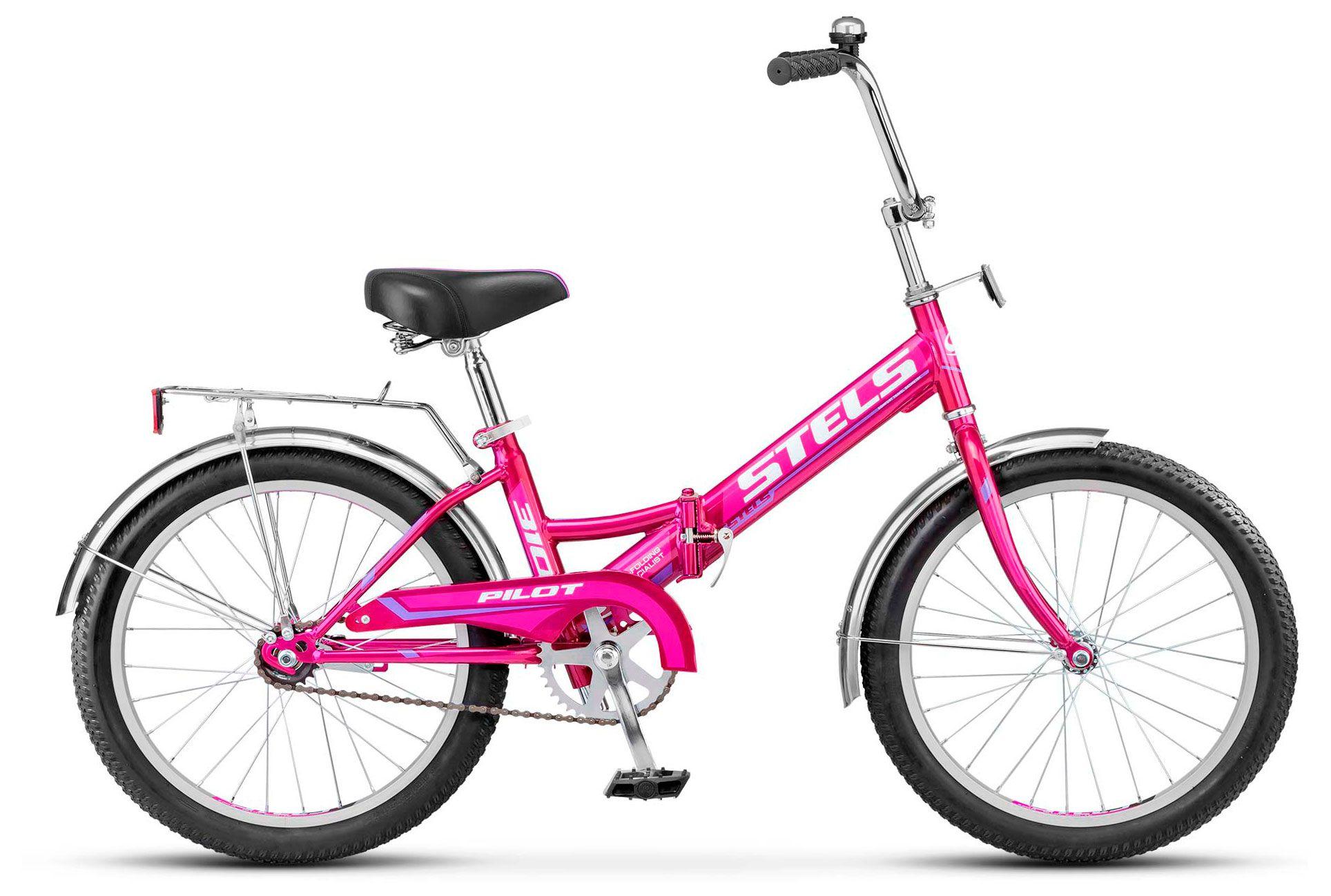 STELS Велосипед Pilot-310 20» (13» Малиновый), арт. Z011