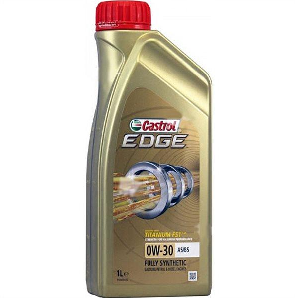 Castrol EDGE Titanium FST, 0W30, A5/B5, моторное масло, синтетика, 1л, Бельгия