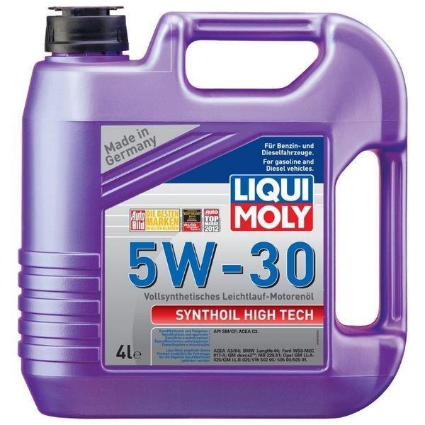 LIQUI MOLY Synthoil High Tech, 5W/30, синтетика, 4л, Германия